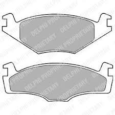 Brake Pads Front 239mm Solid